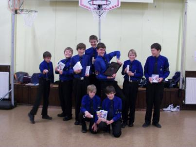Provision of £500 of equipment to the Burgess Hill Boys Brigade