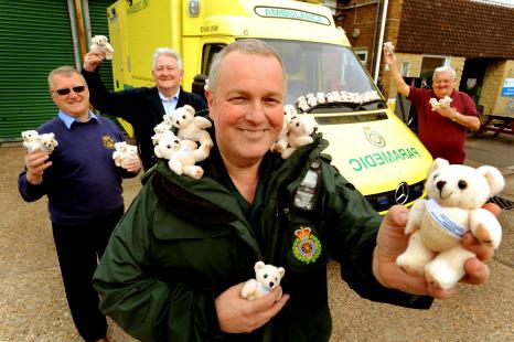 Presentation of Trauma Teddies 19th March 2014
