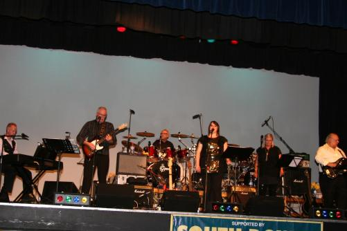 The Burgess Hillbillies at a gig for the Lions in aid of Macmillan Cancer and supported by South Downs Nurseries